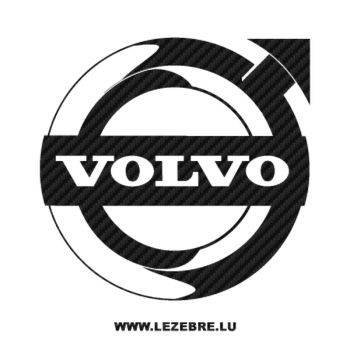 Volvo Logo Carbon Decal