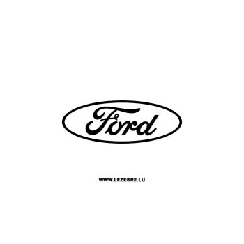 Ford logo Decal 2