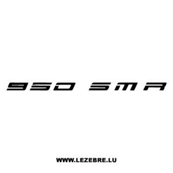 Sticker KTM 950 SMR