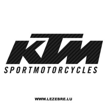 Sticker Karbon KTM Sportmotorcycles