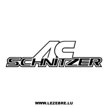 Sticker AC Schnitzer logo