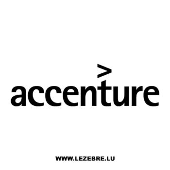 Accenture Logo Decal