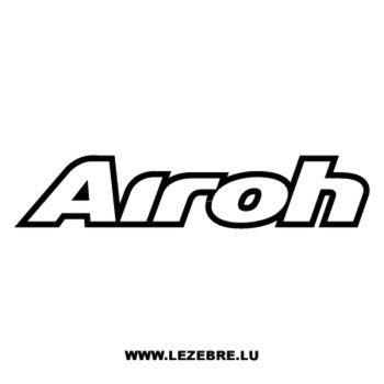 Airoh Helmet Decal