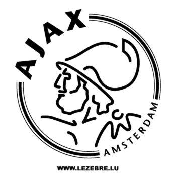 Sticker Ajax Amsterdam FC Logo