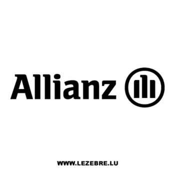 > Sticker Allianz Logo