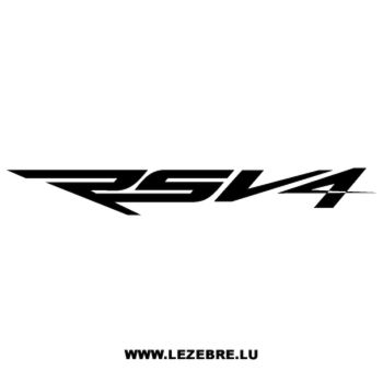 Sticker Aprilia RSV4