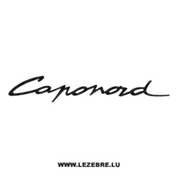 Sticker Carbone Aprilia Caponord
