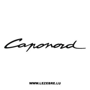Sticker Aprilia Caponord