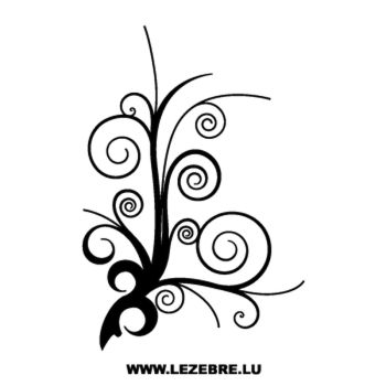 Tree design Decal 2