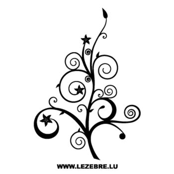 Tree flowers Decal