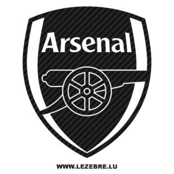 Sticker Carbone Arsenal Football Club Logo