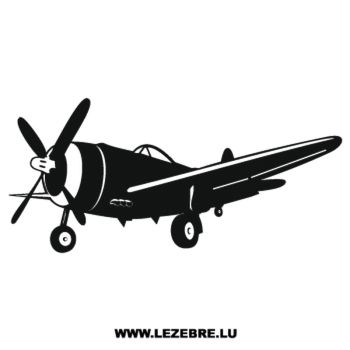 Airplane Decal 3