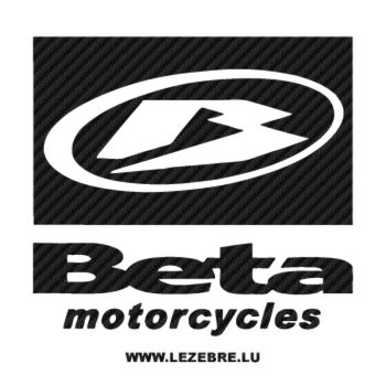 Sticker Carbone Beta Motorcycles