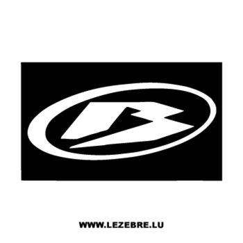 Beta Motorcycles Decal logo 2