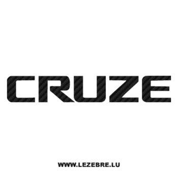 Sticker Karbon Chevrolet Cruze