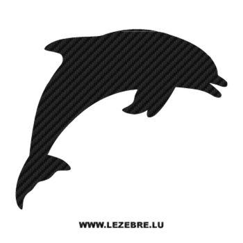 Sticker Carbone Dauphin Flipper