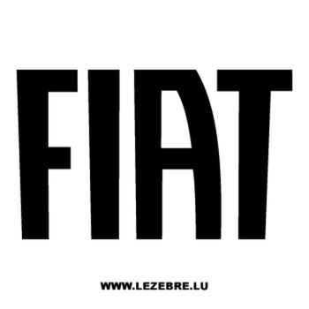 Fiat Decal