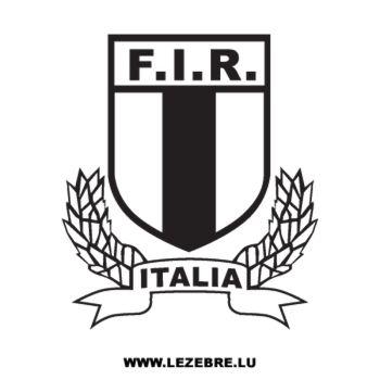 Tee shirt FIR Italie Rugby Logo