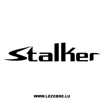 Gilera Stalker Decal