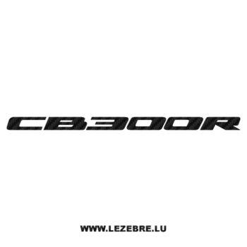 Honda CB 300R Carbon Decal