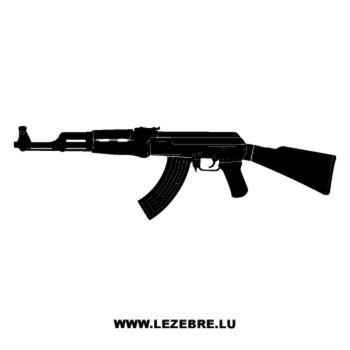 Kalashnikov AK47 Decal