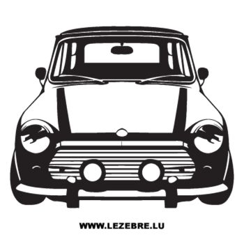 Sticker Mini Auto Oldtimer
