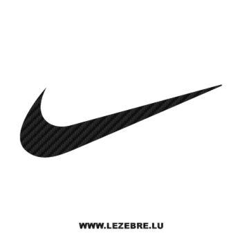 Nike logo Carbon Decal