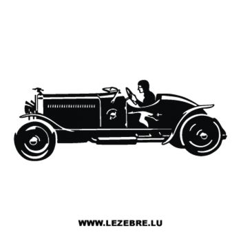 Oldtimer Car Decal 2