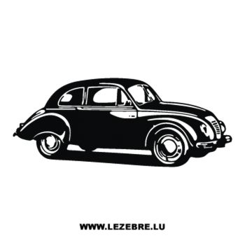 Oldtimer Car Decal 3