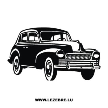 Oldtimer Car Decal 4