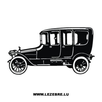 Sticker Oldtimer Auto
