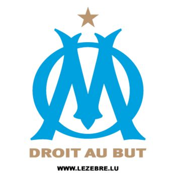Sticker Olympique de Marseille couleur