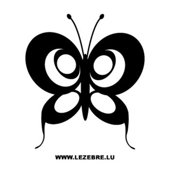 Sticker Schmetterling