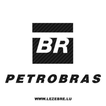 Petrobas logo Carbon Decal