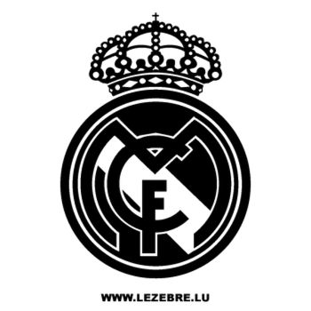 Real Madrid Football Club Decal