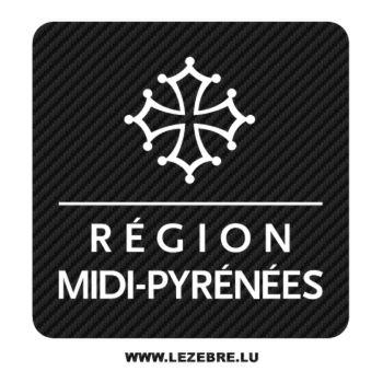 Midi-Pyrénée Carbon Decal
