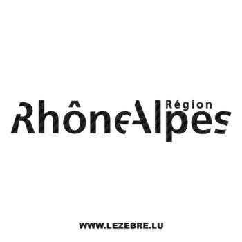Rhône-Alpes Carbon Decal