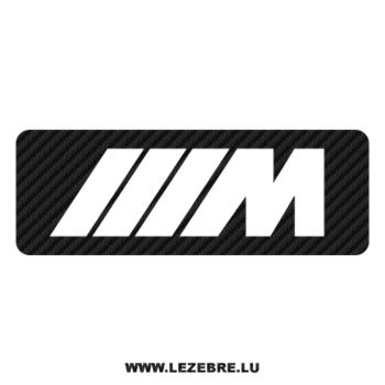 BMW M Series Carbon Decal 2