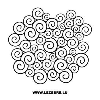 Swirls Decal
