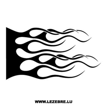 > Sticker Deco Flamme 104