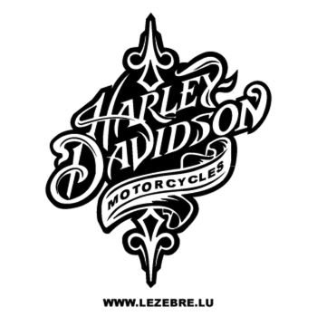 Harley Davidson Motorcycles Decal
