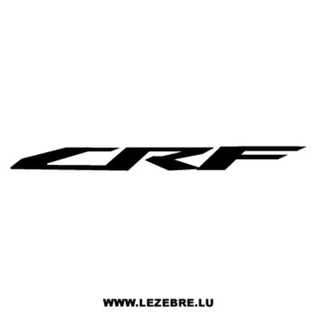 Honda CRF Decal