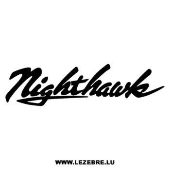 Honda Nighthawk Decal 2