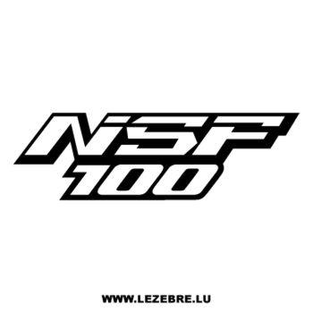 Honda NSF 100 Decal