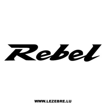 Honda Rebel Decal