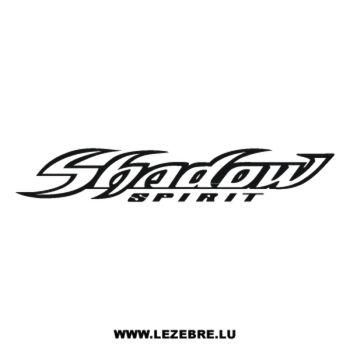 > Sticker Honda Shadow Spirit
