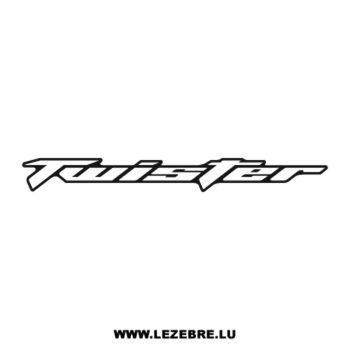 Honda Twister Decal