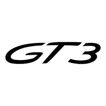 Porsche 911 GT3 logo Decal