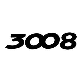 Sticker Peugeot 3008 Logo