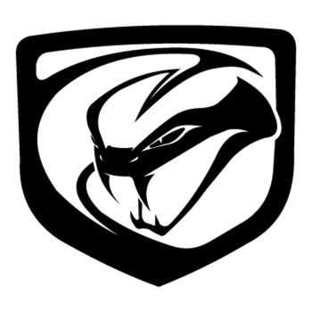 Dodge Viper 2012 logo Decal